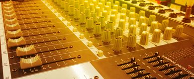 Correcte mixercontrole Stock Foto's