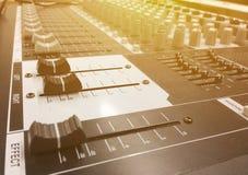 Correcte mixercontrole Royalty-vrije Stock Foto's