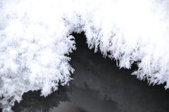 Correcte sneeuwvlokmeetkunde royalty-vrije stock foto's