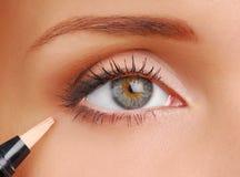 Correcteur d'épreuves cosmétique image libre de droits