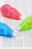 Correction roller Stock Images