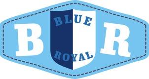 Correction royale bleue Photo stock