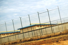 Correctional Facility. Stock Image