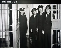 Correctional Officers in Alcatraz Stock Images