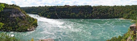 A corredeira do redemoinho do Rio Niágara Imagem de Stock Royalty Free
