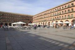 Corredera square Stock Images