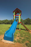 Corrediça azul Foto de Stock Royalty Free