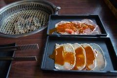 Corrediça da carne de porco Fotografia de Stock