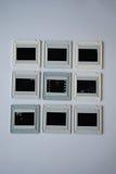 Corrediças de cor velhas Imagem de Stock Royalty Free
