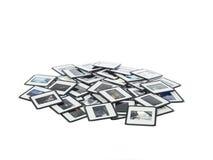 Corrediças de Diapositive Fotografia de Stock