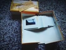 Corrediças de Kodak imagens de stock