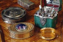Corredo del profumo al palazzo di Tsarskoye Selo Pushkin Fotografie Stock Libere da Diritti