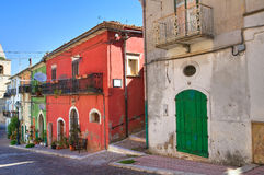 Corredor. Alberona. Puglia. Itália. fotos de stock royalty free
