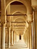 Corredor antigo em Tunísia fotografia de stock