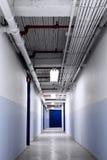 Corredor azul longo Foto de Stock Royalty Free