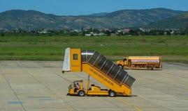 Corredor central no aeródromo de Lien Khuong Airport fotografia de stock royalty free