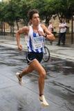 Corredor da cidade da raça urbana 2007 de Malaga Fotografia de Stock Royalty Free