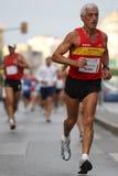 Corredor da cidade da raça urbana 2007 de Malaga Foto de Stock Royalty Free