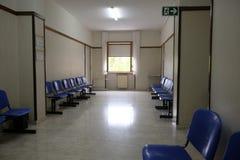 Corredor da clínica de paciente não hospitalizado Fotografia de Stock Royalty Free