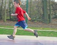 Corredor da criança Imagem de Stock Royalty Free