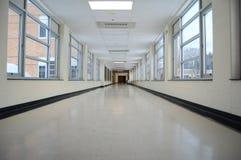 Corredor da escola Imagem de Stock