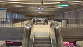 Corredor da estação de metro Foto de Stock