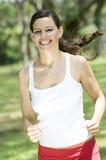 Corredor da mulher Foto de Stock Royalty Free