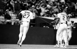 Corredor de Billy Beane Oakland Athletics foto de stock royalty free