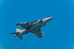 Corredor de cross de AV-8B más imagen de archivo libre de regalías
