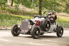 Corredor de Grand Prix del vintage Fotografía de archivo libre de regalías