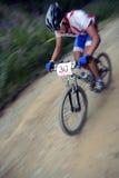 Corredor de la bici Imagen de archivo