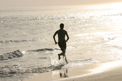 Corredor de la playa Imágenes de archivo libres de regalías