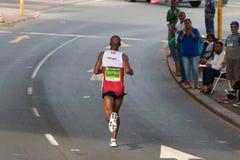 Corredor 1 de los camaradas maratón fotografía de archivo