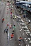 Corredor de maratón Imágenes de archivo libres de regalías