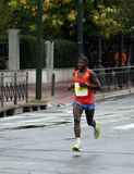 Corredor de maratona, Atenas, Greece Imagens de Stock Royalty Free