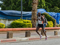 Corredor de maratona de Asrat Mamo Foto de Stock Royalty Free