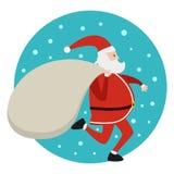 Corredor de Santa ilustração do vetor