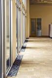 Corredor de vidro Foto de Stock