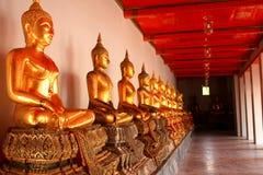 Corredor de Wat Fotografia de Stock