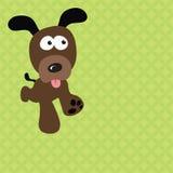 Corredor do cão ilustração stock