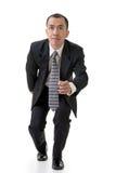 Corredor do homem de negócio Foto de Stock