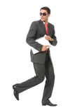 Corredor do homem de negócios ou do cabouqueiro Imagem de Stock