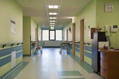 Corredor do hospital Foto de Stock Royalty Free