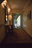 Corredor do hotel Foto de Stock Royalty Free