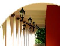 Corredor do hotel Imagens de Stock