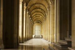 Corredor do Louvre Foto de Stock Royalty Free