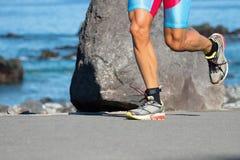 Corredor do triathlete do corredor imagens de stock royalty free