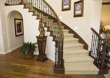 Corredor e escadaria Fotografia de Stock