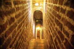 Corredor em uma torre de sino Fotografia de Stock Royalty Free