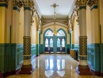 Corredor interior na câmara municipal velha, Richmond Fotografia de Stock